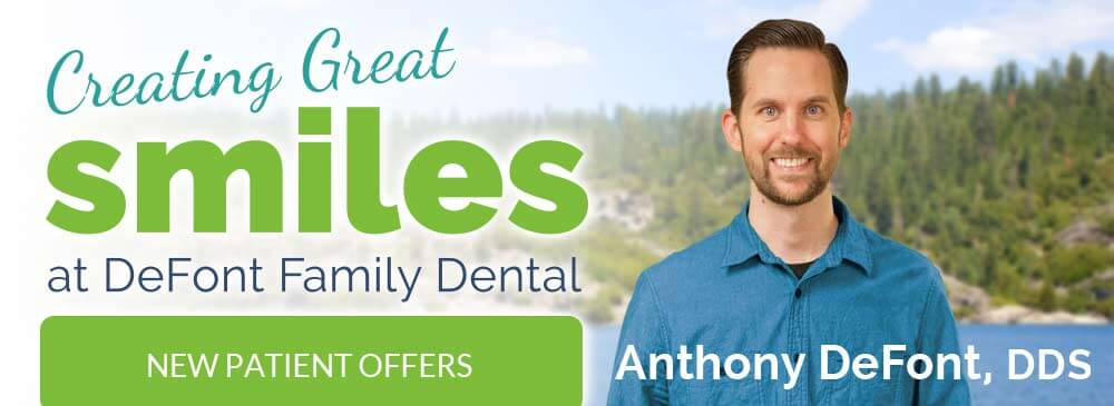 Creating Great Smiles at DeFont Family Dental - Dr. Anthony DeFont